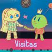 Visitas. A Illustration, Verlagsdesign, Schrift und Kreativität project by Natalia Méndez - 19.03.2019