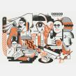 FANZINE BACOA. Un proyecto de Ilustración digital de José Antonio Roda Martinez - 25.03.2019