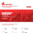 Sitio web de Decidim.org. Un proyecto de Diseño Web y Desarrollo Web de Javier Usobiaga Ferrer - 28.10.2018