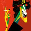 Leyendas del Rock Nacional. A Illustration project by Pablo Lobato - 04.04.2011