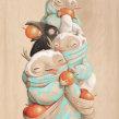 GRANADILLAS. Un proyecto de Ilustración, Pintura y Pintura a la acuarela de Katherine Dossman Casallas (k2man*) - 04.04.2018