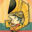 Ragtime Tuba Time. Un proyecto de Ilustración, Diseño de personajes e Ilustración digital de Ed Vill - 05.04.2019