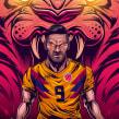 FútbolRed. A Illustration, Vector Illustration, and Digital illustration project by Juan Villamil - 04.09.2019