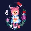 Alicia en el País de las Maravillas . Um projeto de Ilustração, Ilustração digital e Ilustração infantil de Pamela Barbieri - 09.04.2019
