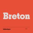 Breton. Un proyecto de Tipografía de Latinotype - 12.04.2019