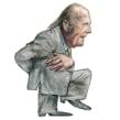 Revista Interviú. Un proyecto de Diseño de personajes, Dibujo, Pintura a la acuarela, Dibujo de Retrato y Dibujo artístico de Carlos Rodríguez Casado - 17.04.2019