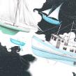 The Ghost People. Un projet de Illustration et Illustration numérique de Vero Navarro - 22.04.2019