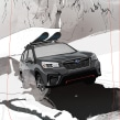 Tabla de Snow para el Subaru Winter Fest. Un proyecto de Ilustración de Óscar Lloréns - 24.04.2019