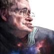 Stephen Hawking (El Mundo). A Design von Figuren, Zeichnung, Porträtzeichnung, Realistische Zeichnung und Artistische Zeichnung project by Carlos Rodríguez Casado - 25.04.2019