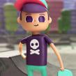 Dancing Shoop. Um projeto de Cinema, Vídeo e TV, 3D, Animação, Design de personagens, Animação de personagens, Animação 3D e Design de personagens 3D de Ruben F Stremiz - 01.05.2019