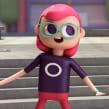 Dancing Tap. Un projet de Cinéma, vidéo et télévision, 3D, Animation, Character Design, Animation de personnage, Animation 2D, Modélisation 3D , et Conception de personnages 3D de Ruben F Stremiz - 01.05.2019