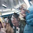 Metro Madrid (personal). Un proyecto de Dibujo, Pintura a la acuarela, Dibujo de Retrato, Dibujo realista y Dibujo artístico de Carlos Rodríguez Casado - 04.05.2019