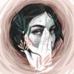 Huracán. Um projeto de Ilustração, Ilustração digital e Ilustração de retrato de Beatriz Ramo (Naranjalidad) - 07.05.2019
