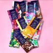 Diseño de estampados para packaging de chocolate. Un proyecto de Diseño, Ilustración, Packaging, Pattern Design y Estampación de Mónica Muñoz Hernández - 13.05.2019