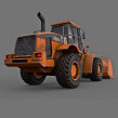 CAT 966H _ 3D Model. A Product Design project by Alber Silva - 06.03.2019