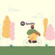 Spotify. Un proyecto de Animación de Javier Miranda Nieto - 04.06.2019