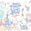 Flashbacks. Un proyecto de Ilustración, Diseño editorial y Dibujo de Carlos Arrojo - 10.06.2019