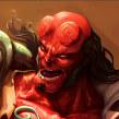 Hellboy Fan art. A Drawing, and Digital illustration project by Heber Villar Liza (Nimrod) - 06.23.2019