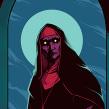 The Nun movie fan art. A Digital illustration project by Heber Villar Liza (Nimrod) - 06.23.2019