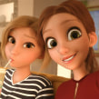 2 Girls . A 3D, 3D Animation, 3d modeling, and 3D Character Design project by Miguel Miranda - 02.10.2019