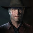 Clint Eastwood 3D. A 3D, 3d modeling, and 3D Character Design project by Miguel Miranda - 11.04.2014