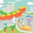 Churro y el mago (ed. Mamut Comics). Un proyecto de Ilustración, Diseño de personajes, Cómic e Ilustración infantil de Gastón Caba - 09.07.2019