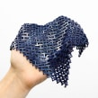 Chainmail - 3D Printable Fabric. A 3d modeling project by Agustín Arroyo - 07.12.2019
