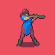 Personaje (Proceso comentado). Un projet de Illustration numérique, Jeux video , et Pixel art de Daniel Benítez - 16.07.2019