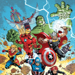Marvel Action Comics Covers. A Comic project by Gabriel Rodríguez - 09.07.2019