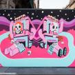 Mural Día de Muertos. Un proyecto de Ilustración de Andonella - 31.10.2017