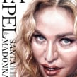 Madonna (El Mundo). Un proyecto de Ilustración, Dibujo, Pintura a la acuarela, Ilustración de retrato, Dibujo de Retrato, Dibujo realista y Dibujo artístico de Carlos Rodríguez Casado - 17.07.2019