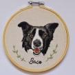Retrato de Baco . A Embroider project by Valentina Castillo - 07.17.2019