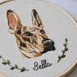 Retrato de Bella . Un progetto di Ricamo di Valentina Castillo - 17.07.2019