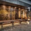 Arte Textil para Starbucks Reserve Monterrey . Um projeto de Design de interiores de Mariella Motilla - 19.07.2019