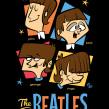 Here they are-The Fabulous BEATLES!. Un proyecto de Ilustración vectorial, Ilustración digital, Ilustración de retrato e Ilustración infantil de Ed Vill - 19.07.2019