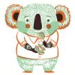 Muñecos La Maraña. Un proyecto de Ilustración y Pattern Design de Ana Sanfelippo - 01.11.2015