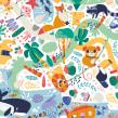 Dröma. A Illustration, and Pattern Design project by Ana Sanfelippo - 09.01.2018