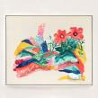 Obra en Acrílico y bordado para exposición en South Main Gallery, Vancouver, Canada. A Painting, and Embroider project by Katy Biele - 12.01.2018