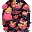 Super Mario Super Art Show en NYC.. Un proyecto de Ilustración, Diseño de carteles, Ilustración digital e Ilustración infantil de Gemma Román - 07.09.2018