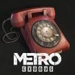Teléfono Soviético Rojo - Metro Exodus. A 3D, 3d modeling, and Video game project by Paula Sánchez-Ferrero Ruiz - 08.10.2017