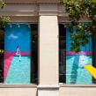 Splash! -> DM Òptics. Un proyecto de Diseño, Dirección de arte, Diseño de interiores, Escenografía y Bordado de Señorita Lylo - 01.09.2019
