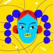 Faces . Un proyecto de Ilustración e Ilustración digital de Chabaski - 04.09.2019