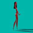 María, Naomi, Twyggy. Un proyecto de Ilustración vectorial, Fotografía de moda e Ilustración de retrato de Jorge Arévalo - 04.09.2019