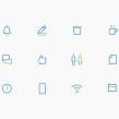 B20 Argentina . Um projeto de Br, ing e Identidade e Diseño de iconos de Hermes Mazali - 05.09.2019