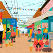 Going home to eat. Un proyecto de Ilustración de Catalina Vásquez - 13.03.2019
