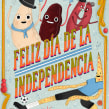 Snapchat - Día de la independencia Argentina. A Illustration, Character Design, and 2D Animation project by Catalina Vásquez - 07.09.2019