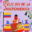 Independencia de Colombia. Un proyecto de Ilustración, Animación y Animación 2D de Catalina Vásquez - 16.07.2019