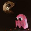 Pac- man - brillantez de los 80´s. Un proyecto de Diseño, Artesanía, Bellas Artes y Creatividad de Paola Alonso - 04.10.2019