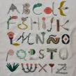 Alfabeto Botánico. Um projeto de Tipografia, Bordado e Ilustração têxtil de Adriana Torres - 01.02.2019