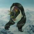 los ojos del cuervo. A Illustration, Painting, Creativit, and Drawing project by Jhoel Mamani Espinoza - 10.14.2019